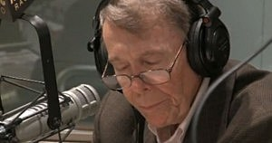 Bob Grant on the air at WABC