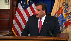 Governor Chris Christie addresses the Bridgegate emails at a Statehouse press conference
