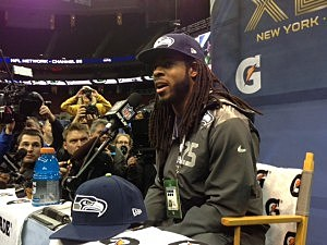 Seahawks cornerback Richard Sherman