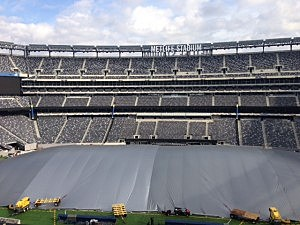 MetLife Stadium prepped for Super Bowl XLVIII