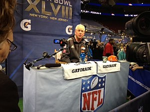 Denver Broncos coach John Fox