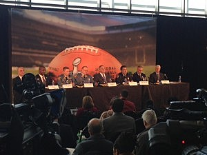 Super Bowl security briefing