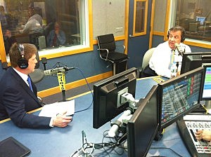 Governor Chris Christie in studio for Ask the Governor on February 3