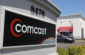Comcast customer service center in California
