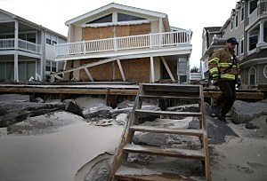Damage From Hurricane Sandy
