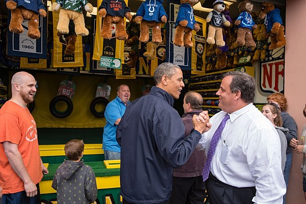 President Obama and Governor Christie