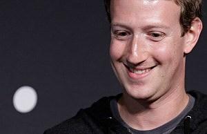 Facebook CEO Mark Zuckerberg speaks at the Newseum