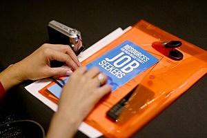 Job Seekers Attend West Palm Beach Florida Career Fair