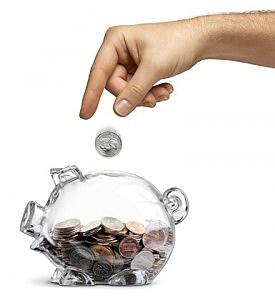Piggy Bank Savings - Male