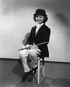 Shirley Temple in approximately 1937