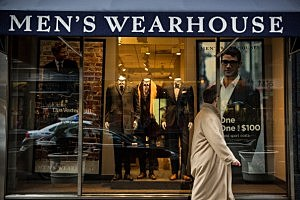 A Men's Warehouse store in New York City