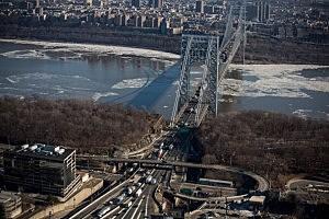 The New Jersey side of the George Washington Bridge,