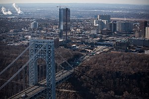 The New Jersey side of the George Washington Bridge
