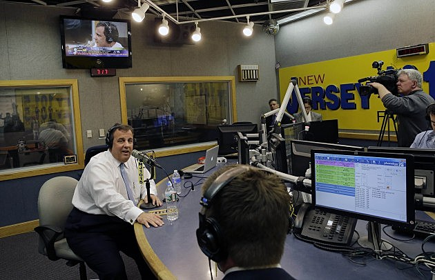 NJ Governor Chris Christie Speaks On NJ101.5