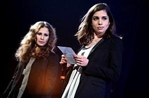 Maria Alyokhina (L) and Nadezhda Tolokonnikova of Pussy Riot