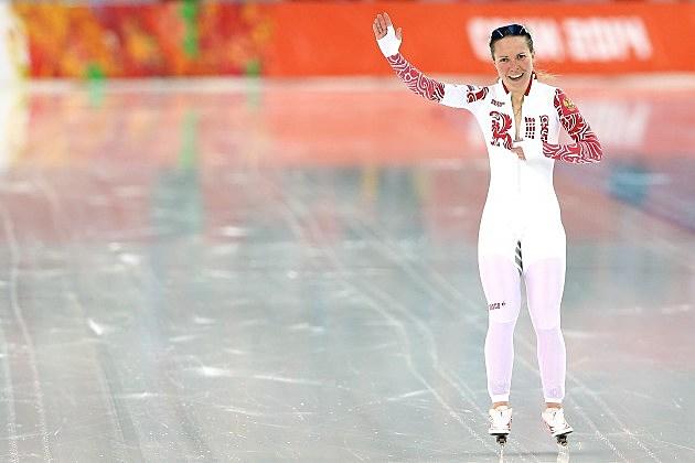 Olga Graf Has Wardrobe Malfunction During Olympics