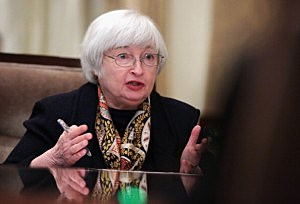 Chairman of Federal Reserve Board Janet Yellen