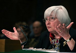 Fed Chair Janet Yellen Testifies To Senate Hearing On The Semiannual Monetary Policy Report