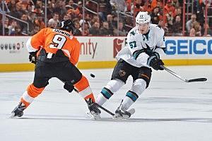 Flyers vs. Sharks