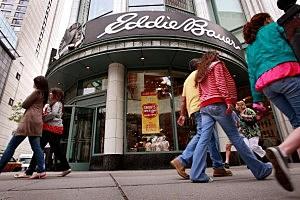 Eddie Bauer store in Chicago