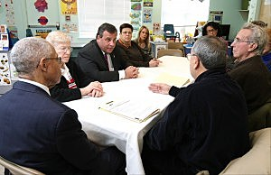 Governor Christie meets with Sandy-impacted residents