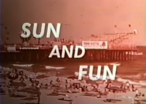 Seaside tourism 1960