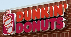 Dunkin' Donuts sign on a store (Tim Boyle/Getty Images)