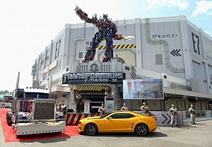 Transformers The Ride - 3D at Universal Orland