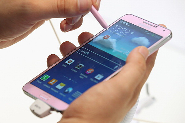 Galaxy Note 3 smartphone