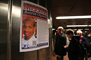 Missing poster for Avonte Oquendo