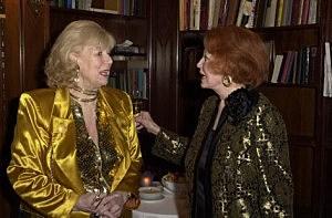 Actress Arlene Dahl and  actress Sheila Macrae