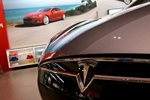 A Tesla Motors vehicle
