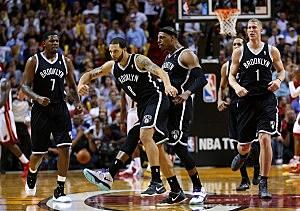 Deron Williams, Paul Pierce, Brooklyn Nets
