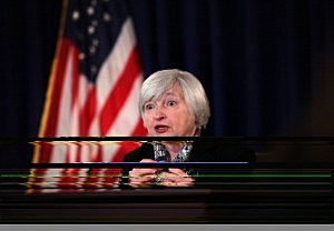 Fed Chair Janet Yellen Holds News Conference After Fed Interest Rate Meeting