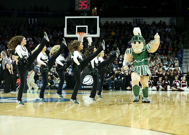 Michigan State Plays at Madison Square Garden during the NCAA Tourney