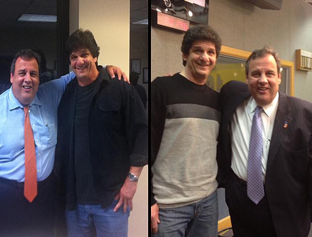 Steve Trevelise and Governor Christie