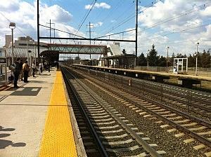 NJ Transit Train Station - Hamilton
