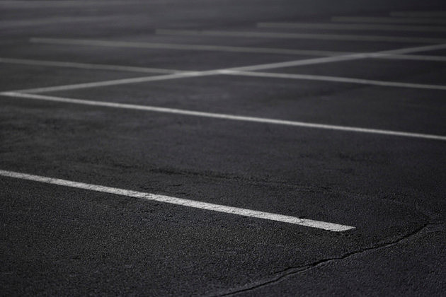 Vacant parking lot