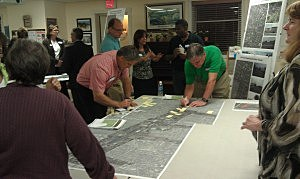 Residents in Monmouth County participate in a workshop for Connecting Community Corridors