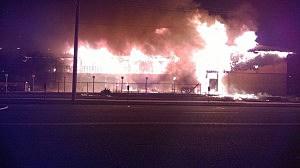 Fire at Marina Cove Motor Inn in Point Pleasant Beach