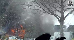 Video of Ewing home explosion