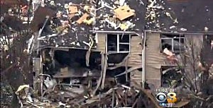 One of 10 homes damaged by Ewing explosion