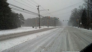 Snow in Mays Landing