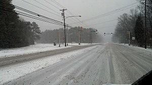 Snow in Mays Landing