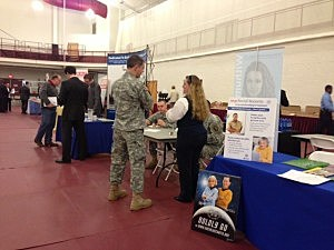 Veterans Career Fair at Rider University