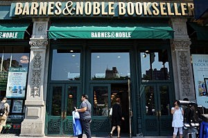 A Barnes & Noble bookstore in New York