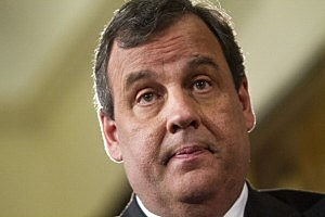 NJ Gov Christie Holds News Conference At Statehouse