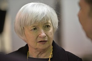 Fed Chair Janet Yellen Tours Daley College In Chicago