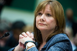 General Motors CEO Mary Barra testifies before the full House Energy and Commerce hearing room