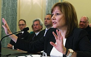 General Motors CEO Mary Barra testifies before the Senate Commerce, Science and Transportation Committee